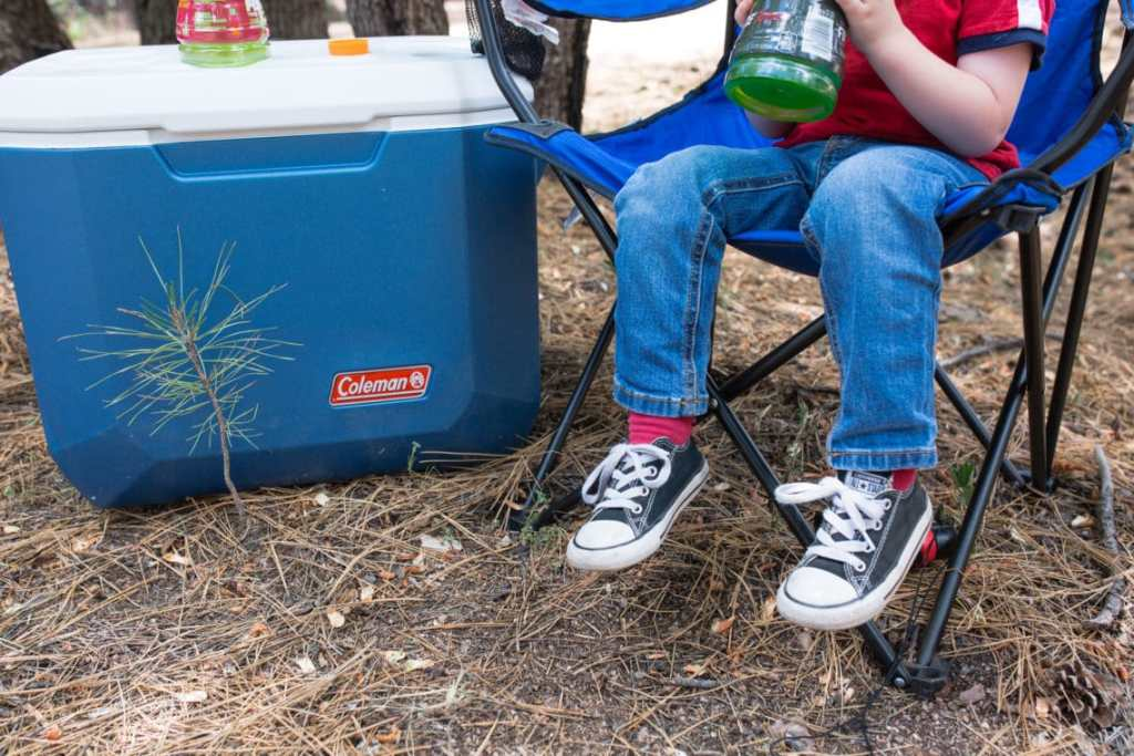 How to go camping with kids