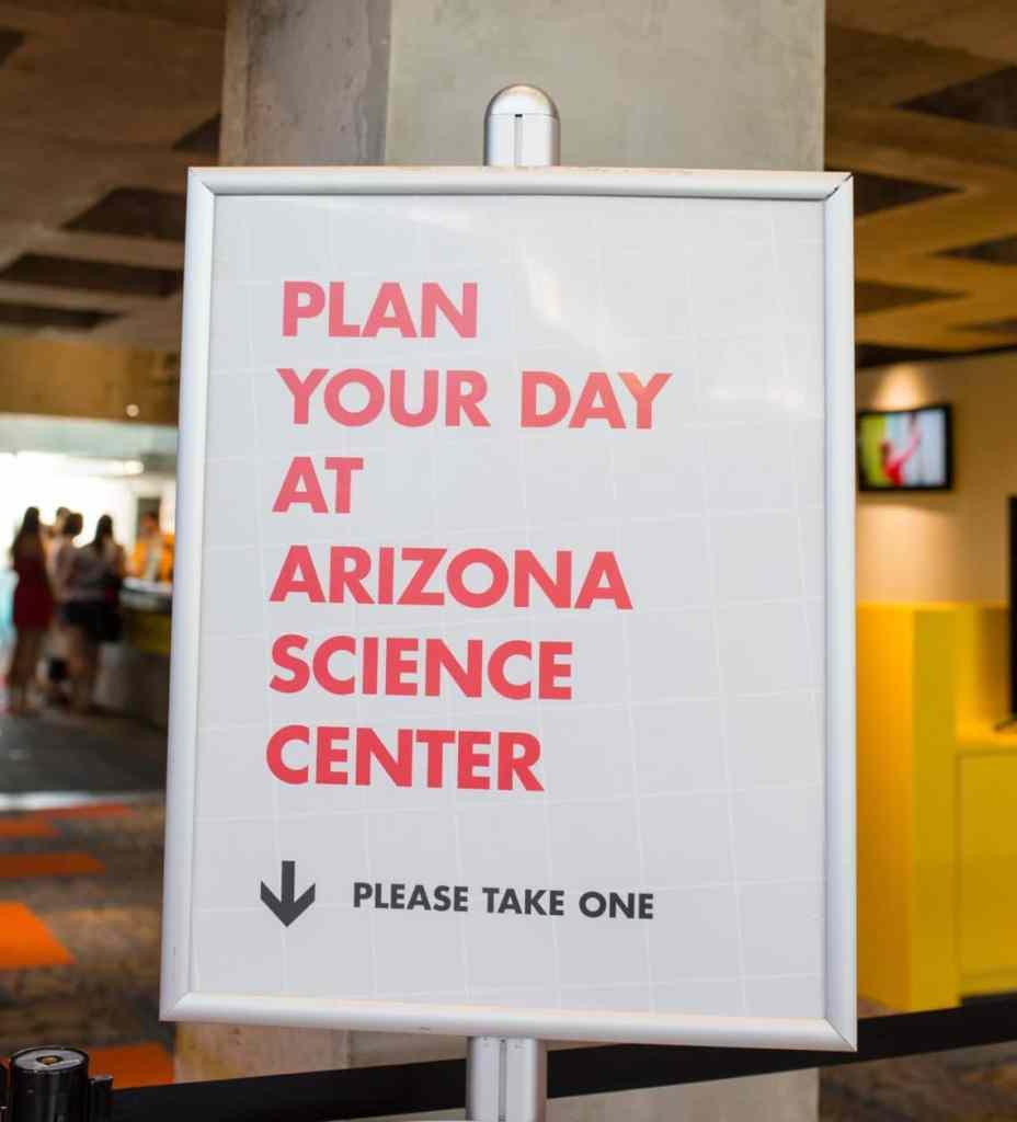 Day at Arizona Science Center
