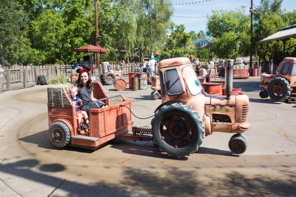 Toddler Rider Swap at Disneyland