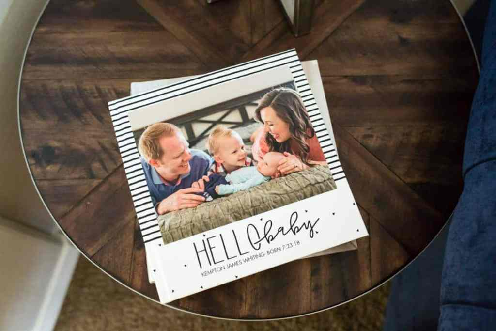 baby photo album