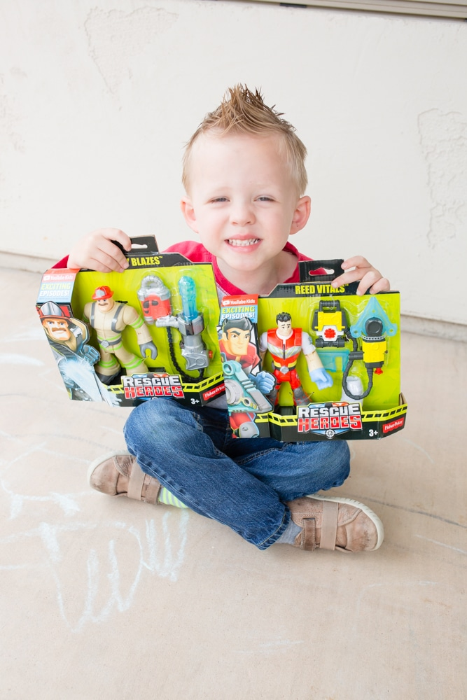 Rescue Heroes Toys