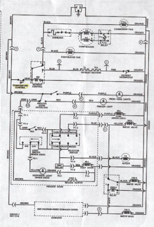 Refrigeration: Refrigeration Thermostat Wiring
