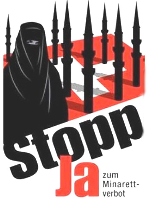 Affisch för minaretförbud