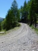 Auffahrt zum Monte Jafferau