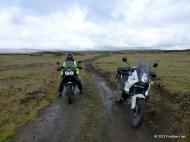 Trail hinter dem Svartárvatn