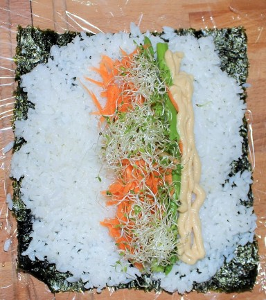 Well Being Kimbap - Fried Green Kimch (7)