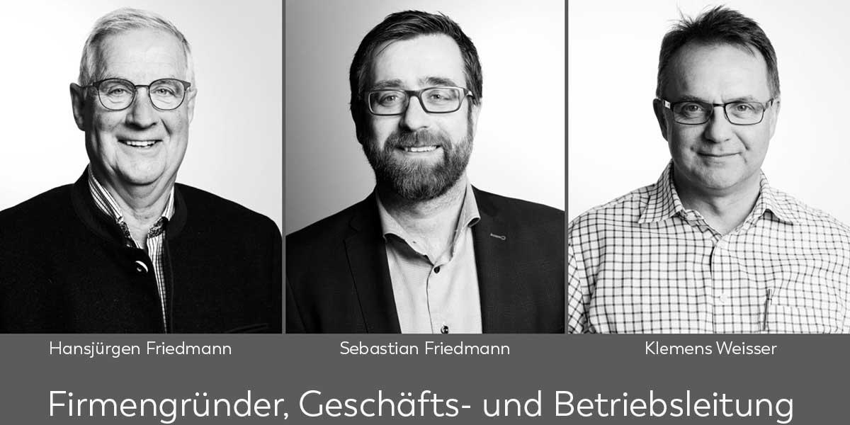 Friedmann Grossküchen GmbH Geschäftsleitung Vorstellung
