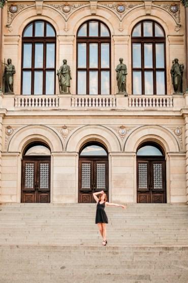 Dancing at Uppsala University