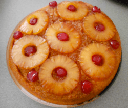 Iron Skillet Pineapple Upside Down Cake Recipe