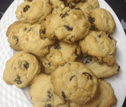 Red White & Blueberry Cookies Recipe