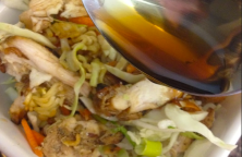 Ramen Noddle Asian Grilled Chicken Salad Recipe