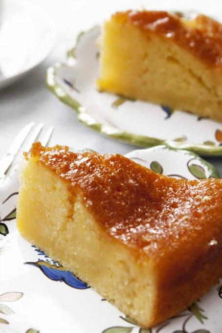 Saftig, glutenfri og melkefri sitronkake!