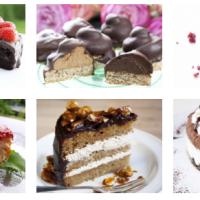 6 deilige kaker uten melk, gluten og egg