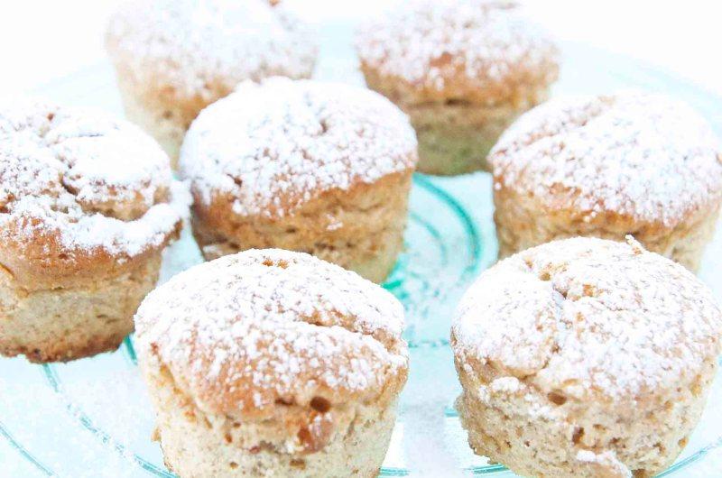 Små bananmuffins