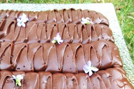 vegansk og glutenfri sjokoladekake