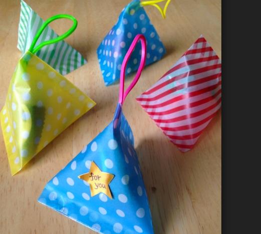 簡単 折り紙 折り紙 三角錐 : friend-birthday.com