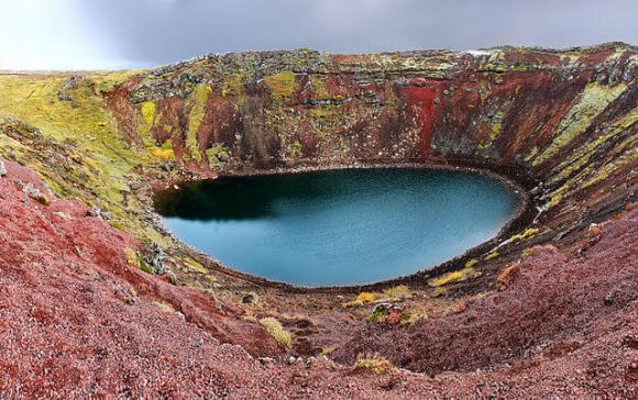 The golden circle - The crator - friend in iceland