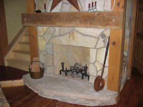 Wood Fireplace No Glass