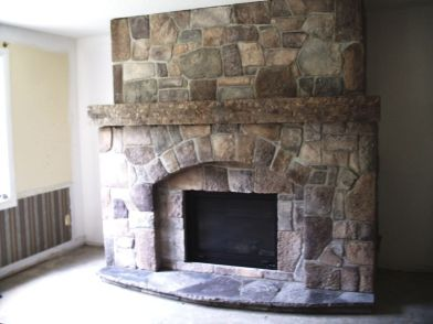 Valcourt Antoinette Contemporary Wood Fireplace