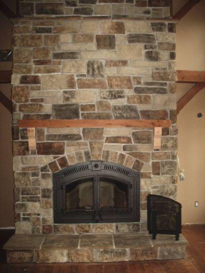 Napoleon NZ6000 Wood Fireplace Stone