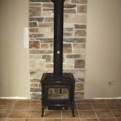Pacific Energy Super 27 Spectrum Classic Coffee Bean Brown wood stove by Friendly Fires.ca in Peterborough, On.