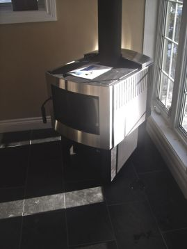 The Pacific Energy Wood Stove (Pacific Energy Fusion Stainless) by Friendly Fires.ca.