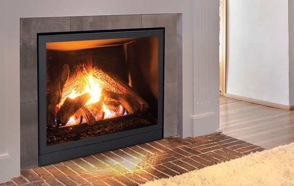 Enviro Q2 Fireplace Real Look No Surround