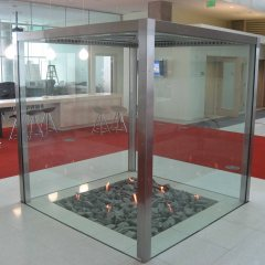 Your Dream Custom Fireplace - Custom All Sided Fireplace