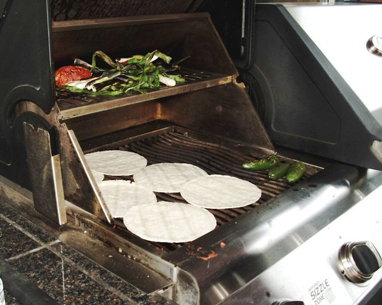 The biggest hit? Grilled corn tortillas