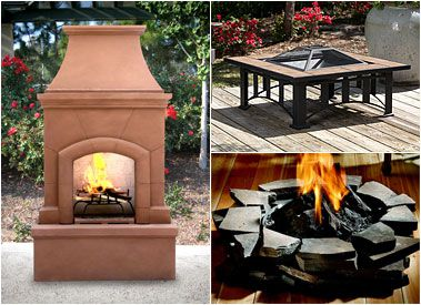 Outdoor Fireplaces, Heaters, & Firepits