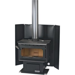 Friendly Fires Wood Stove Heat Shielding
