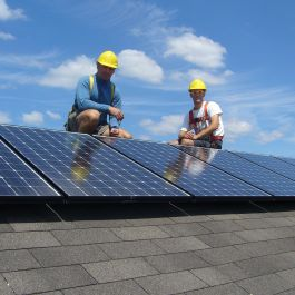 Friendly Fires Solar Install