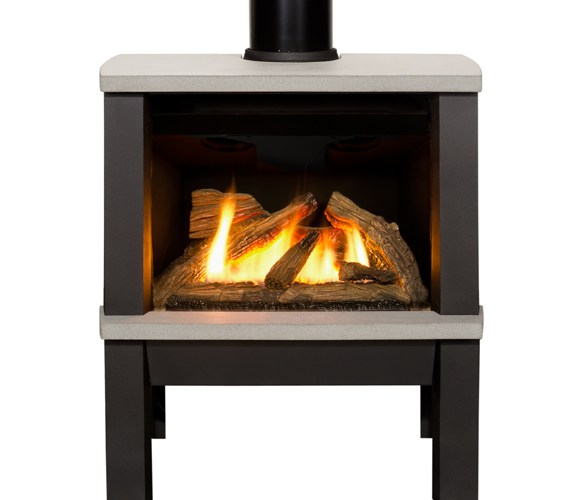 Valor Madrona Gas Stove Contemporary Styling