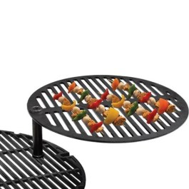 Black Olive charcoal BBQ swing out grill