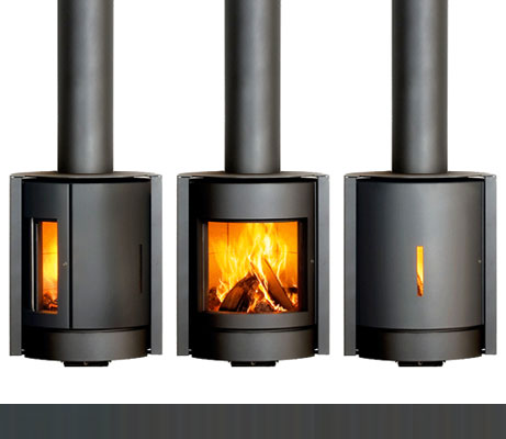 Friendly Fires Stuv 30 Wood Stove Window Options