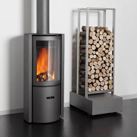 Stuv 30 Wood Stove Firewood Holder