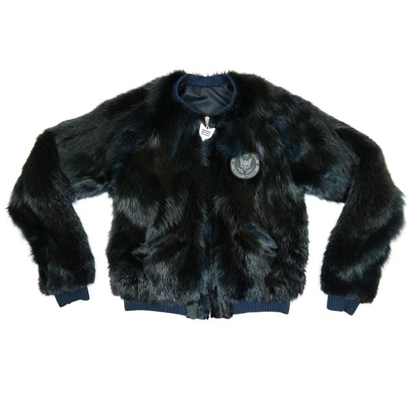 Friendly Fur Berlin Black Silk Jacket