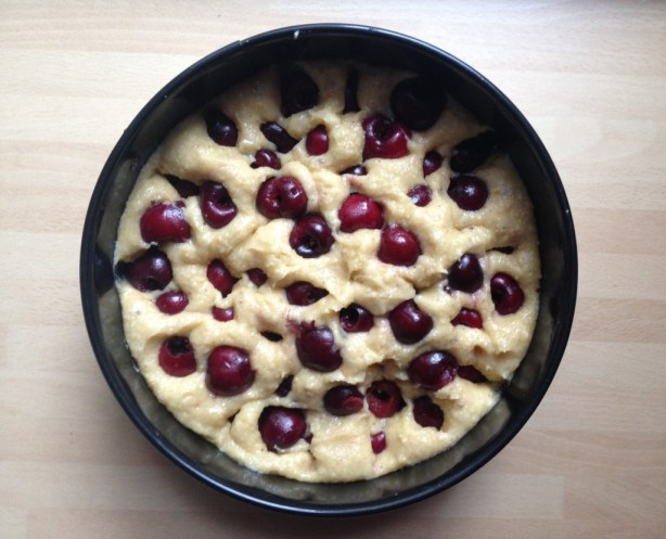 Cherry nut cake recipie