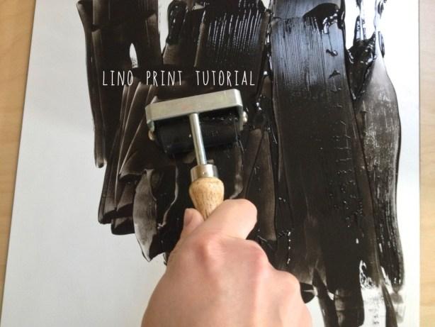 lino print tutorial