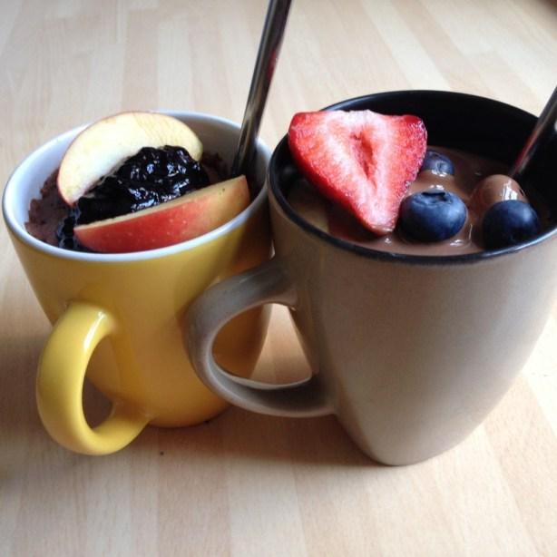 Yummy mug cakes