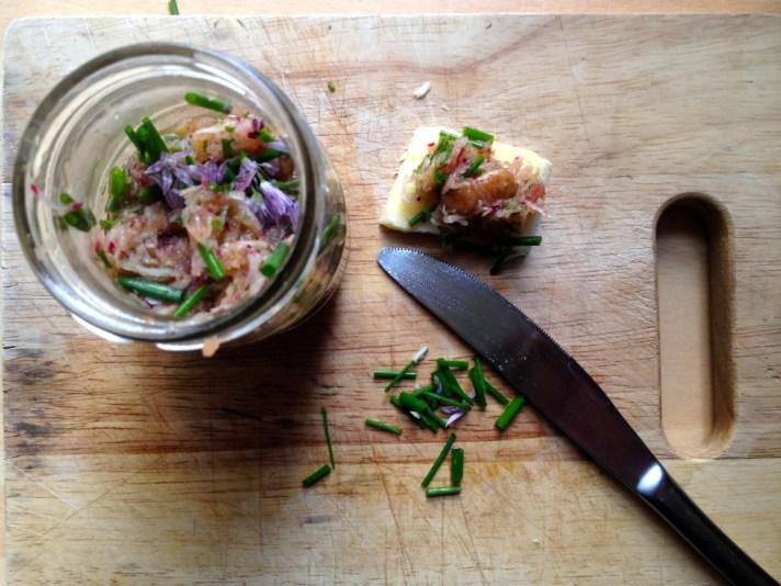 Pickled radish spread