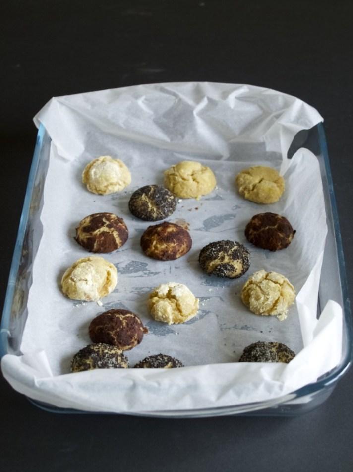 Chickpea flour cookies recipe