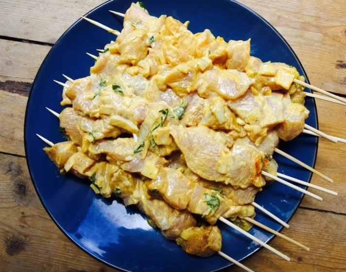 Chicken Shashlik recipe
