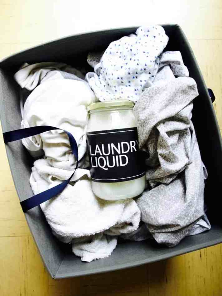 All natural laundry liquid recipe