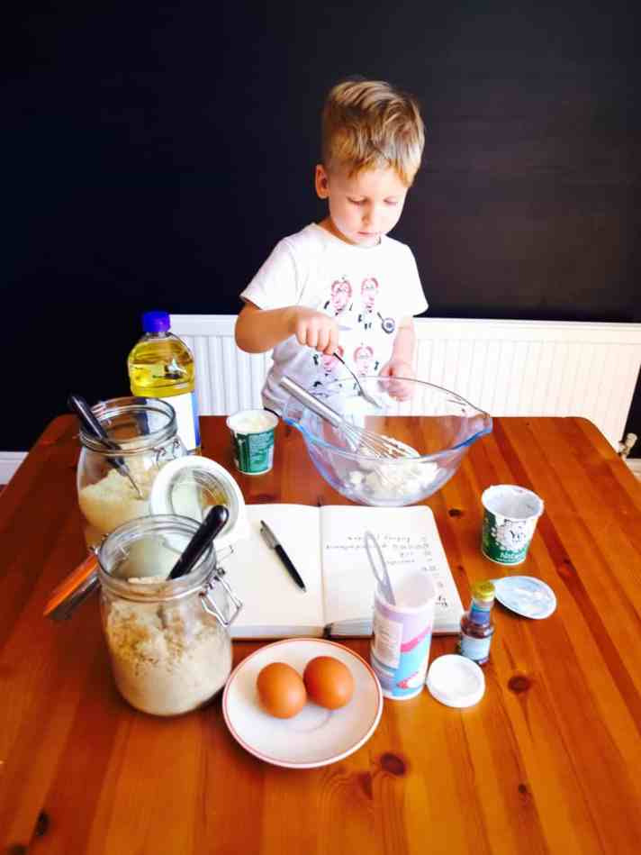 Bake-with-kids yogurt cake recipe