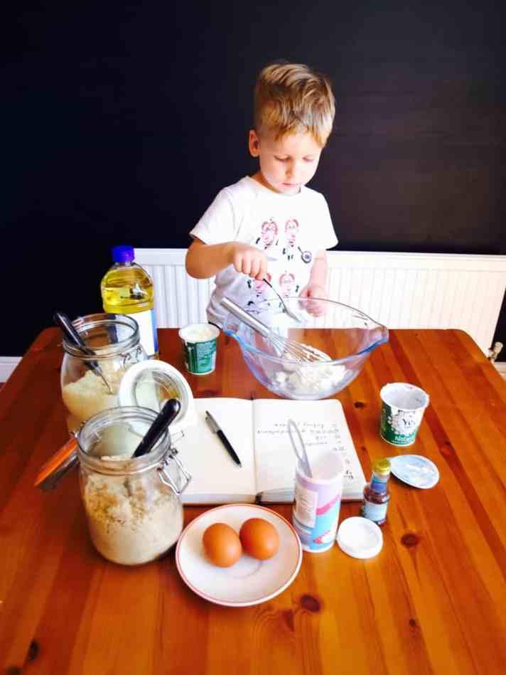 Bake-with-kids yogurt cake recipe