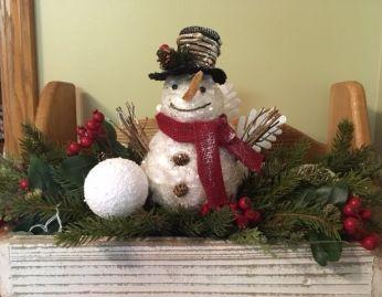 Snowman Arrangement for your home!
