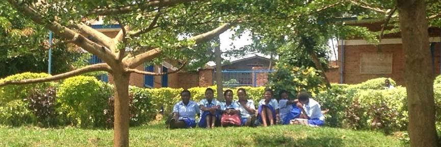 Friends School girls on break during exam week