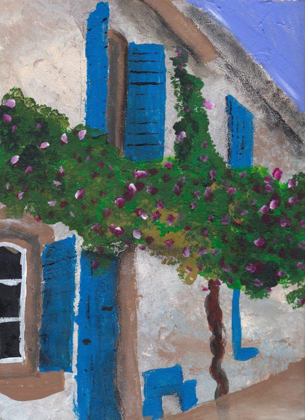 BrS Arles, France 9×12 mixed $45 4-16
