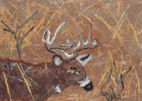 DL Hunting Season 9×12 acrylic $45 9-19